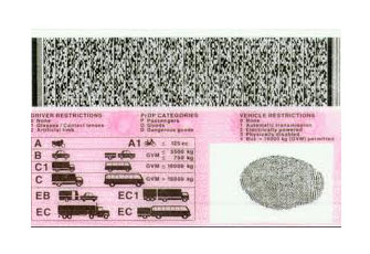 code 10 drivers licence south africa