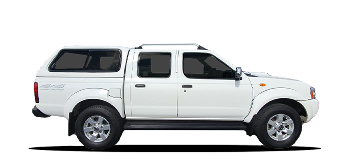 Nissan D/Cab 4x4 or Similar