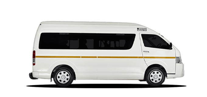 Toyota Quantum 14 Seater or Similar